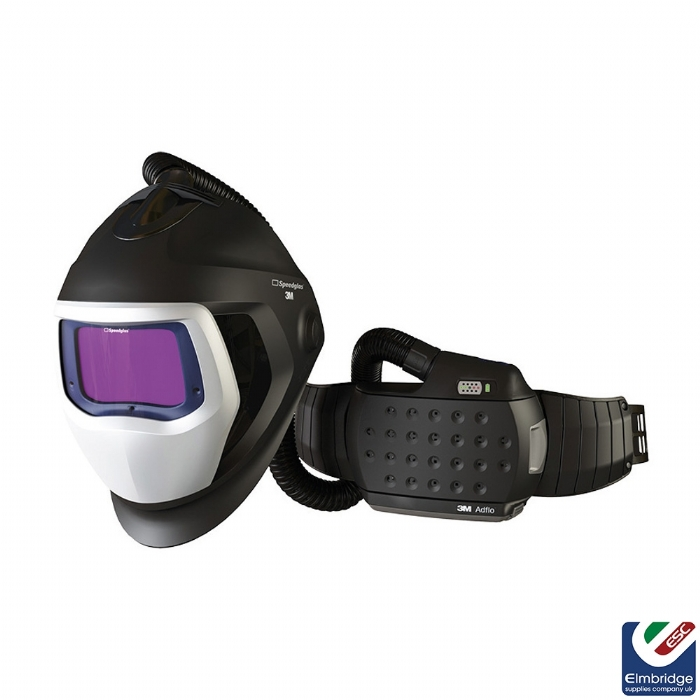3M Speedglas 9100 Air Welding Helmet with 3M Adflo Powered Air Respirator