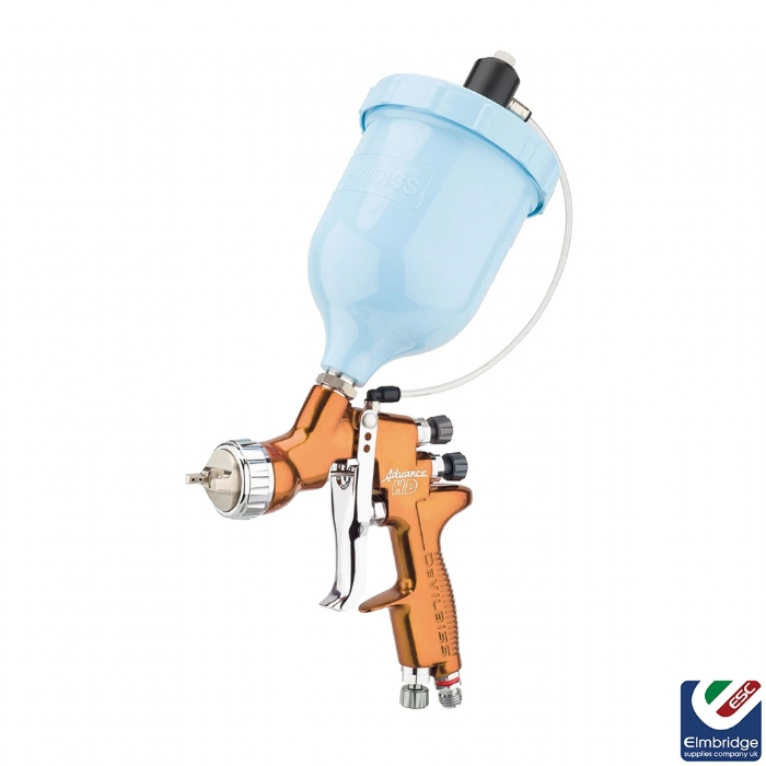 DeVilbiss Advance HD Compliant Spray Gun Range, Trans-Tech - Pressure Assist