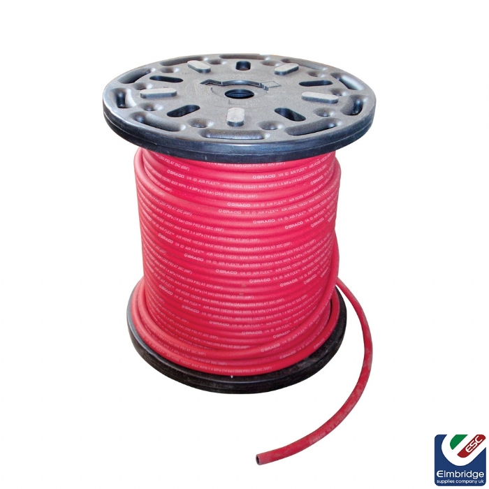 Low Pressure Nylon Lined 3/8'' Fluid Hose with 3/8'' Fittings