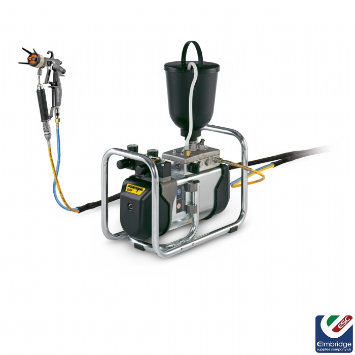 Wagner Cobra 40:10 AirCoat Pneumatic Air Assisted Airless, High Pressure Double Diaphragm Pump
