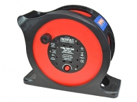 Faithfull 25m Anti-Tangle Rapid Rewind Cable Reel