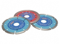 "Faithful 115mm / 4.1/2"" Diamond Blade Bonus Pack"