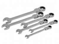 Faithful 6 Piece Ratchet Combination Spanner Set