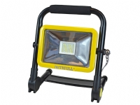 Faithfull 20 Watt Folding Rechargeable Site Light