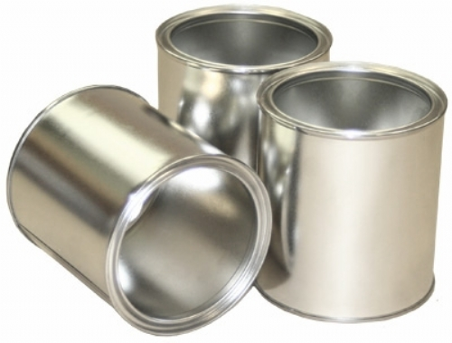 Metal Paint Cans with Lids - Various sizes