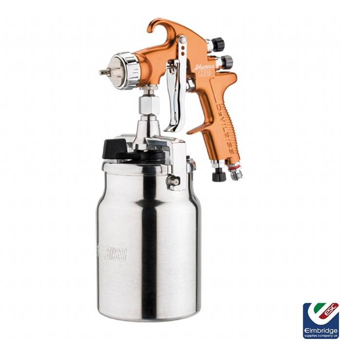 DeVilbiss Advance HD Compliant Spray Gun Range, HVLP - Suction Feed