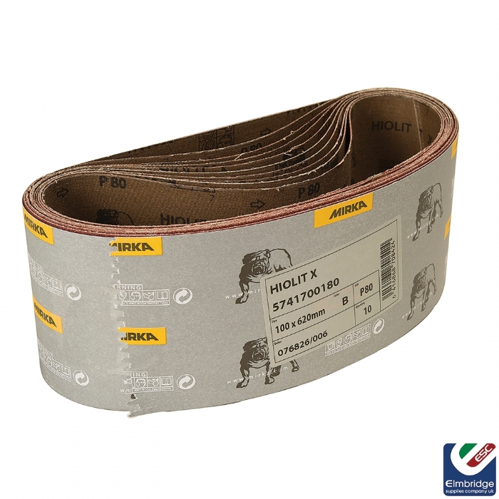 Hiolit XO Sanding Belts - Various Sizes