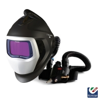 3M Speedglas 9100 Air Welding Helmet with 3M Versaflo Regulator V-500E