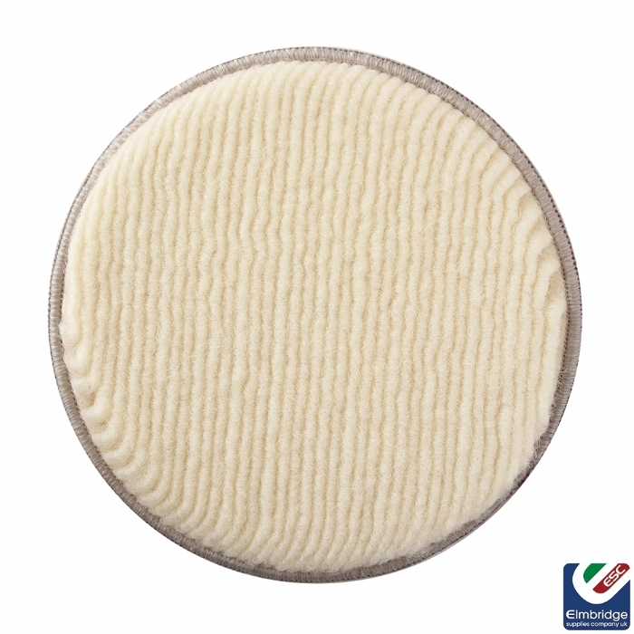 Mirka Polarshine Polishing Wool Pads, Velcro Grip  90mm Pukka Pad