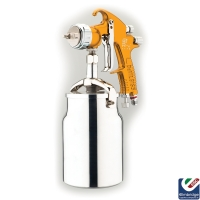 DeVilbiss GTi Pro Lite Compliant Spray Gun, HVLP - Suction Feed