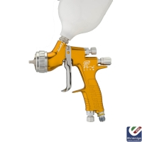 DeVilbiss GTi Pro Lite Compliant Spray Gun, Trans Tech - Gravity Feed