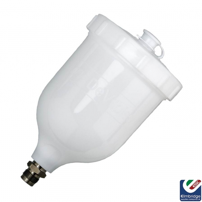 Gravity Cup Kit to suit DeVilbiss Gravity Feed Spray Guns White 0.6 Litres