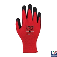 TraffiGlove TG1050 Centric 1 Red Safety Glove