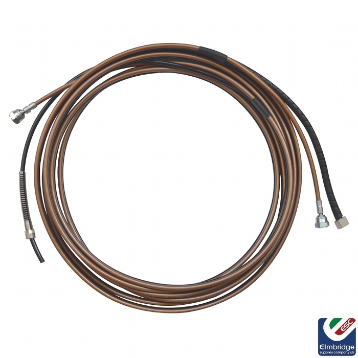 7.5m Superflex Hose Assembly for Binks AA4400M Air Assisted Airless Spray Guns