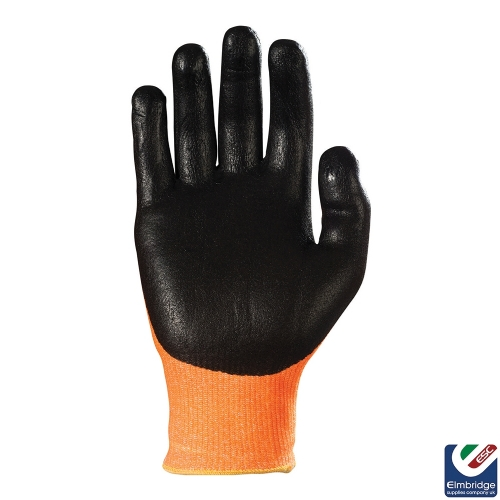 TraffiGlove TG310 Achieve Cut 3 Amber Safety Glove