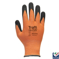 TraffiGlove TG370 Stamina Cut 3 Amber Safety Glove