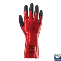 Traffiglove TG1080 Chemic 1 Red Safety Glove