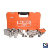 "Bahco 94 piece Assorted 1/4 & 1/2"" Sq. Drive Metric Socket and Spanner Set"