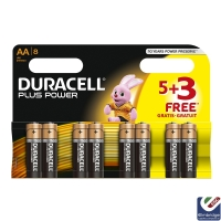 Duracell Multi-Pack of 8 AA Batteries