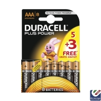 Duracell Multi-Pack of 8 AAA Batteries