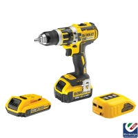 Dewalt 18V Brushless Li-Ion Combi Drill & USB Charger