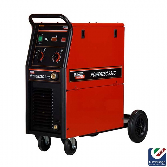 Lincoln Powertec® Single Phase Mig Compact Welders   231C